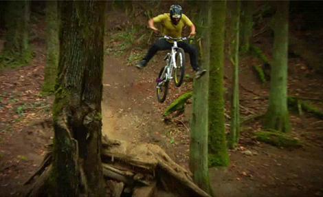 mountain bike stunts